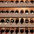 Wine Rack In The Private Dining Room At The Swiss Hotel In Sonoma California 5d24462 by Wingsdomain Art and Photography