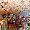 Wine Tasting Room In Castello Di Amorosa In Napa Valley-ca by Ruth Hager
