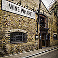 Wine Wharf by Heather Applegate