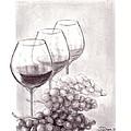 Wine Wine Wine by Joyce Blank