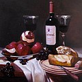 Wine With Peeled Apples by Takayuki Harada