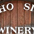 Winery Sign by Barbara Snyder