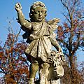Winged Girl 3 by Douglas Barnett