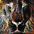 Winged Lion by Mynzah Osiris