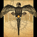 Winged Rider by Tim Nyberg