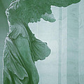 Winged Victory Of Samothrace Statue At The Louvre Museum        by The Art With A Heart By Charlotte Phillips