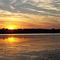 Winnecunnet Sunset by Georgia Hamlin