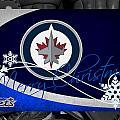 Winnipeg Jets Christmas by Joe Hamilton