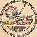 Winnipeg Jets Hockey Poster by Florian Rodarte