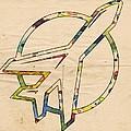 Winnipeg Jets Retro Logo by Florian Rodarte