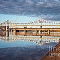 Winona Bridge In Fall 2x3 by Kari Yearous
