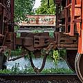 Winona Mn Train Scene Trains Framed by Kari Yearous
