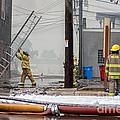 Winona Photograph Kidsport Firefighters by Kari Yearous