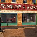 Winslow Arizona by Bob Pardue