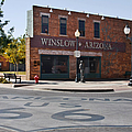 Winslow Arizona - Such A Fine Sight To See by Christine Till