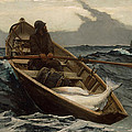 Winslow Homer The Fog Warning by Winslow Homer