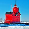 Winter At Big Red by Nick Zelinsky