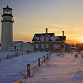 Winter At Highland Lighthouse by Amazing Jules
