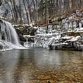 Winter At Lewis Falls by Lori Deiter