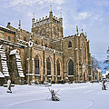 Winter At The Abbey by Ross G Strachan