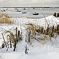 Winter At The Beach 2 by Heiko Koehrer-Wagner