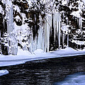 Winter At The Creek by Darleen Stry