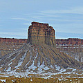 Winter Banded Butte by Meandering Photography