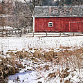 Winter Barn by Dale Kincaid