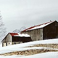 Winter Barn by Michael Swanson