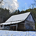 Winter Barn by Susan Leggett