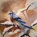 Winter Bird by Elena Sokolova