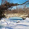 Winter Bridge by David Davis