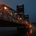 Winter Bridge In Fog 2 by Tim Nyberg