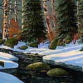 Winter Brook by Frank Wilson