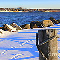 Winter By The Bay by Dora Sofia Caputo Photographic Design and Fine Art