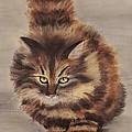 Winter Cat by Anastasiya Malakhova