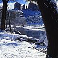 Winter Cathedral Rock by Bob Bradshaw