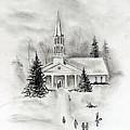 Winter Church by Jacob Cane