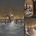 Winter Collage by Veronica Minozzi