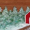 Winter Covered Bridge by Karen Sysyn