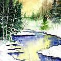 Winter Creek by Steven Schultz