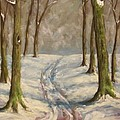 Winter Day by Birgit Schnapp