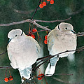 Winter Doves by Betty LaRue