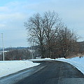 Winter Drive In The Country by R A W M