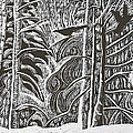Winter Etching by Grace Keown