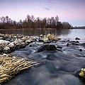 Winter Evening by Davorin Mance