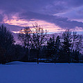 Winter Evening In Grants Pass by Mick Anderson