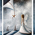 Winter Fairies By Shawna Erback by Shawna Erback