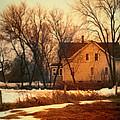 Winter Farhouse by Jill Battaglia