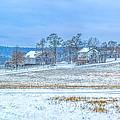 Winter Farm by Randy Steele